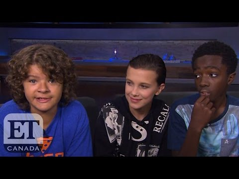 The Kids From Netflix's 'Stranger Things' On Music, Barb And Season 2