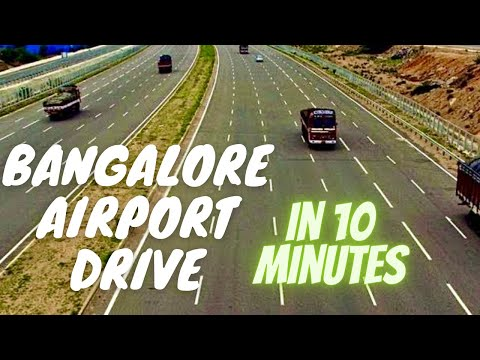 Bangalore International Airport Drive in 10mts Outer Ring Road IT Corridor *HD*