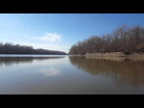 Whirlpool on the Missouri river