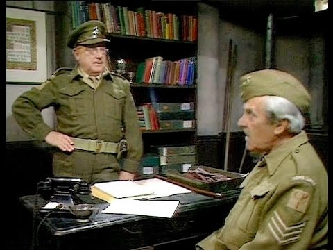 Dad's Army - Face on The Poster - ... you could be taken for one of those nancy boys!...