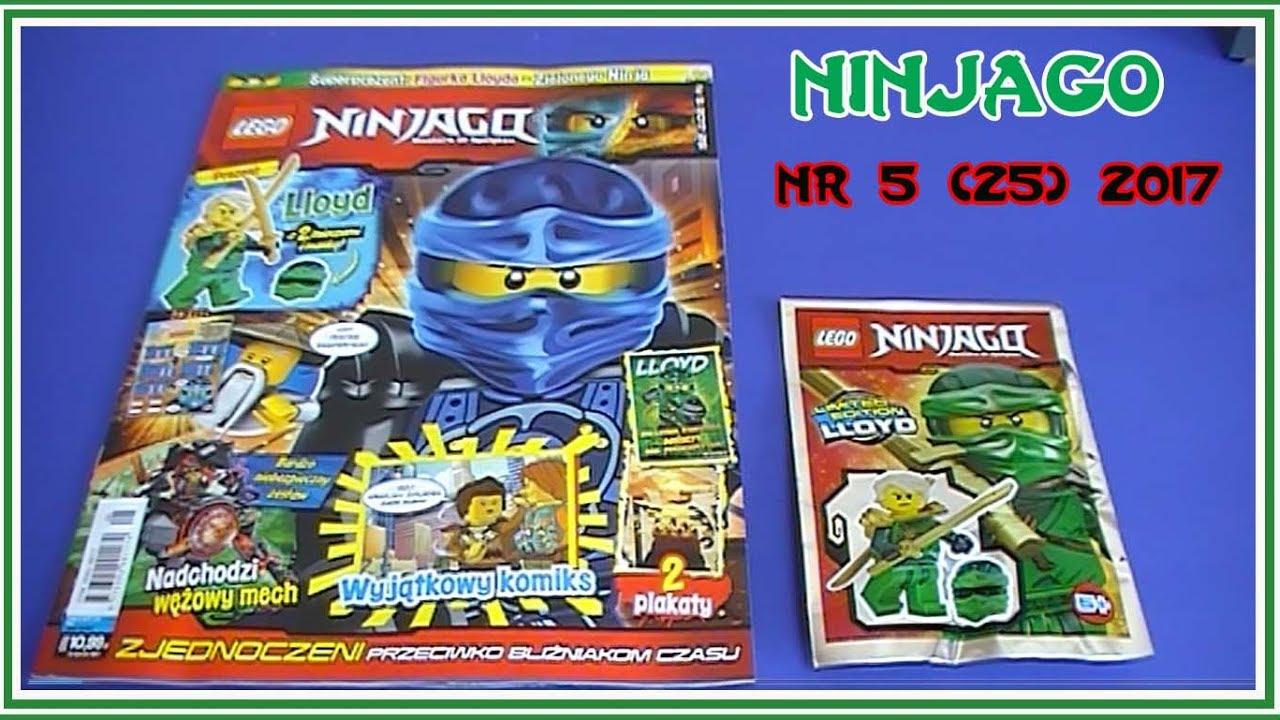 Otwieramy Magazyn Lego Ninjago Nr 5 25 Z 2017 Lloyd Z Dwoma