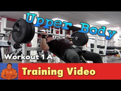 My New Workout Upper / Lower Body Rotational Split Routine Workout 1A