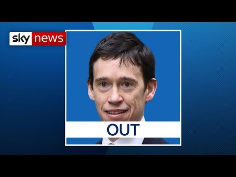 BREAKING NEWS: Rory Stewart eliminated from the Tory leadership contest