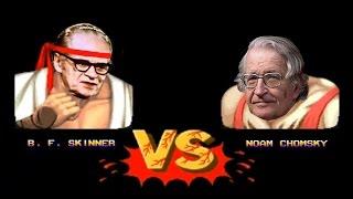 Noam Chomsky Vs. B. F. Skinner