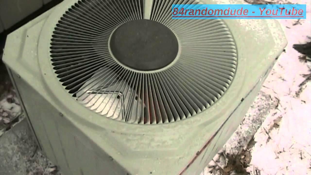 Trane Xe Heat Pump Defrost Cycle