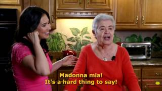 Cooking with Nonna - Please Subscribe Outtakes