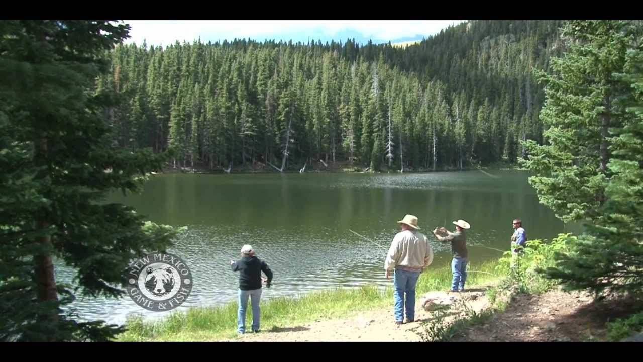 Visit middle fork lake youtube for New mexico fishing license