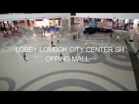 Lobby of Lombok City Center Shopping Mall
