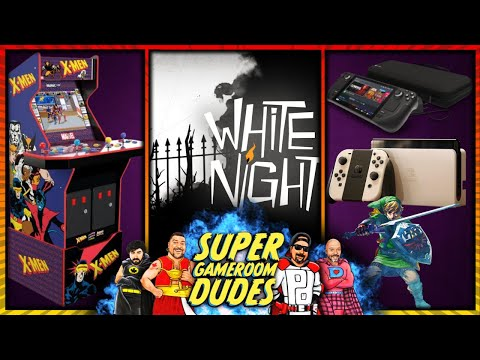 Arcade1Up, AtGames, iiRcade News! Nintendo Switch OLED, Valve Steam Deck & MORE! from Super GameRoom Dudes