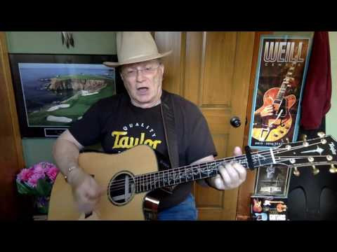 2211 -  Dublin Blues -  Guy Clark cover -  Vocal & acoustic guitar & chords