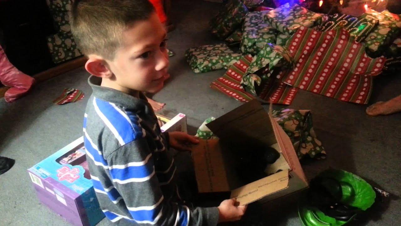 Santa brings coal for christmas - YouTube