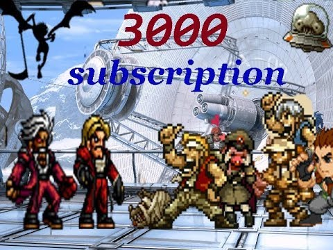【KOF Mugen】3000 subscription !!!  Rugal&God Rugal VS Metal Slug Team