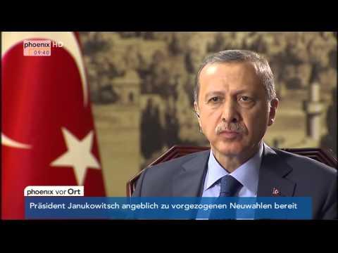 Interview mit Recep Tayyip Erdogan am 04.02.2014
