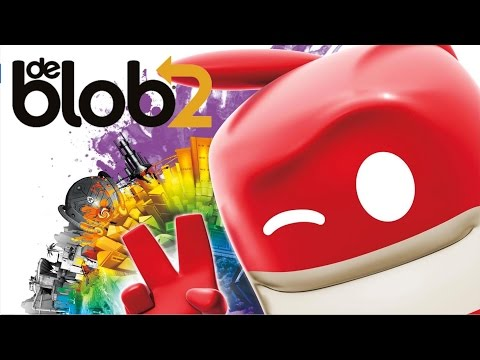 De Blob 2 - Part 1 Let's Play walkthrough (XBOX360/PS3/)