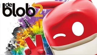 De Blob 2 - Part 1 Let's Play walkthrough (XBOX360/PS3/)