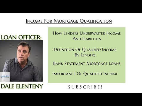 Income For Mortgage Loan Qualification Underwriting Guidelines | 2019 BANK STATEMENT MORTGAGE