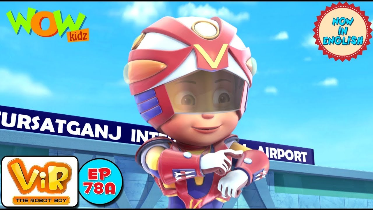 Vir: The Robot Boy - Invisible Power Attack - As Seen On HungamaTV - IN ENGLISH #1