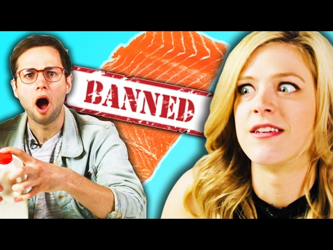 Thumbnail: Americans Try Banned Foods From Other Countries
