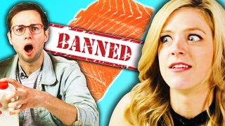 Americans Try Banned Foods From Other Countries thumbnail