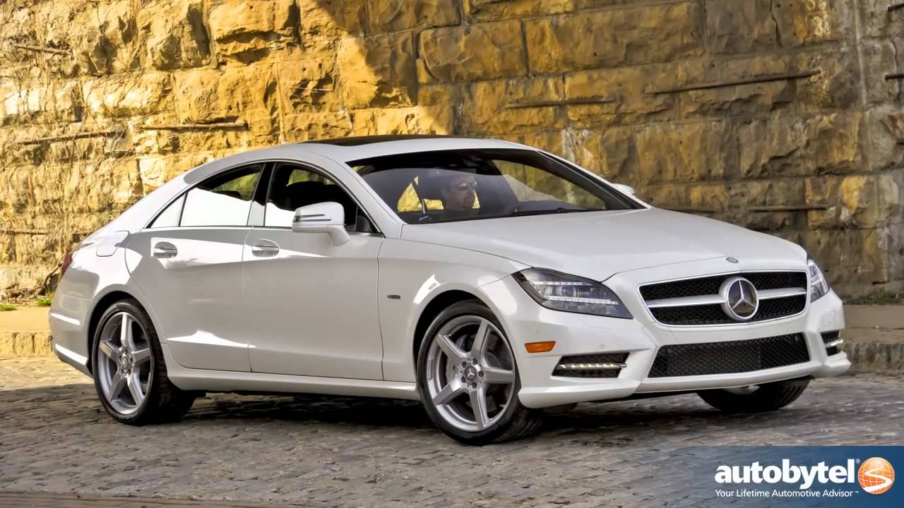 2012 mercedes benz cls550 test drive luxury car review youtube. Black Bedroom Furniture Sets. Home Design Ideas