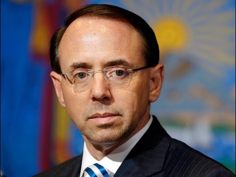 Rod Rosenstein is Set to Learn His Fate at the Dept. of Justice