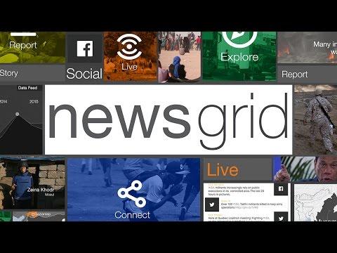 NewsGrid: Al Jazeera's first interactive news hour