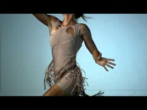 Slow motion video of Jelena Jankovic  for The New York Times Magazine shot by Dewey Nicks