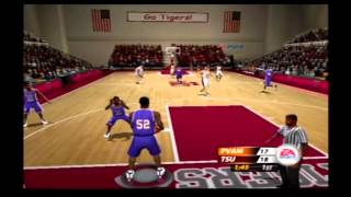 NCAA March Madness 2005 Prairie View A&M vs Texas Southern Retro Gameplay