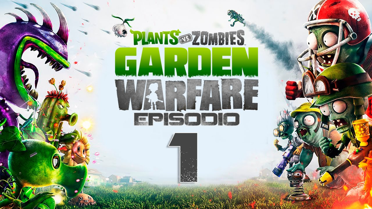 Plantas Vs Zombies Garden Warfare Como Se Juega Youtube