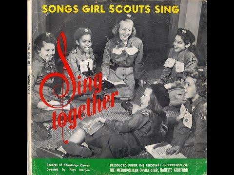 Sing Together, Songs Girl Scouts Sing (vintage vinyl, 1956**)