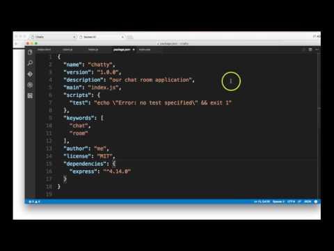 Part 3 - Building a Chat Room from scratch (vuejs, nodejs, socket.io)