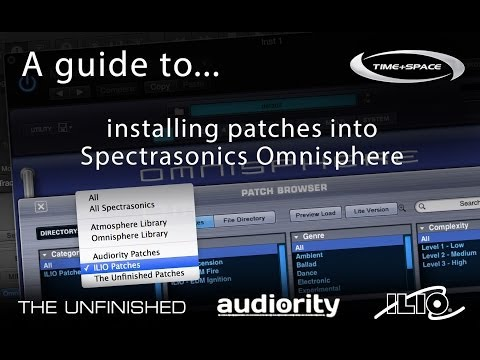 How to load your third-party patches into Spectrasonics Omnisphere 1