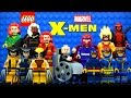 LEGO X-Men 76022 Minifigures with Professor X Wolverine Cyclops Magneto Phoenix & Deadpool