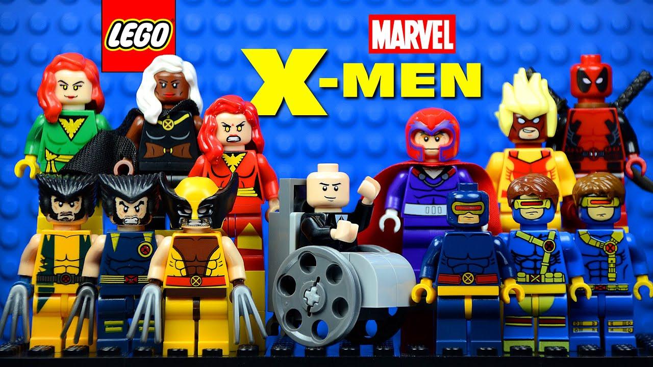 LEGO Super Heros X-Men vs. The Sentinel Marvel 76022 Toy Fair ...
