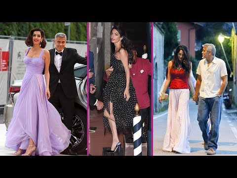 George Clooney and Amal Clooney's Lovely Moments : 2017