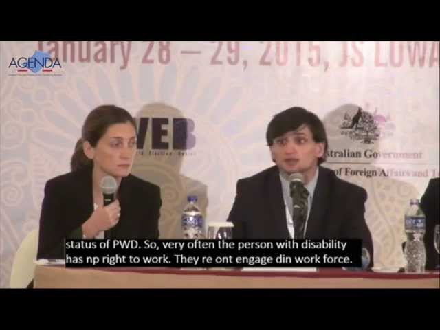 Plenary 6 Engaging youth with disabilities to promote inclusion - AGENDA 3rd Regional Dialogue