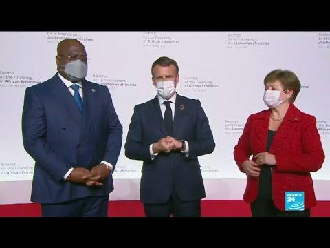 """Sommet sur l'économie africaine : E.Macron appelle à un """"New Deal du financement de l'Afrique"""""""