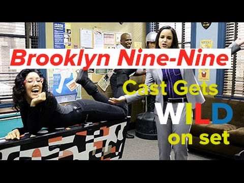 Brooklyn NineNine cast gives us the wildest set tour yet