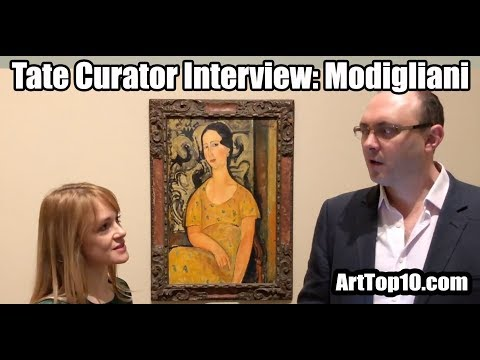 INTERVIEW: Tate Modern Curator Emma Lewis discusses Modigliani with ArtTop10.com Founder Robert Dunt