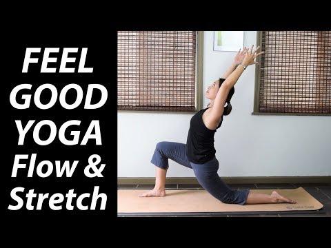 30 Minute Feel Good Yoga: Flow & Stretch - Yoga Upload