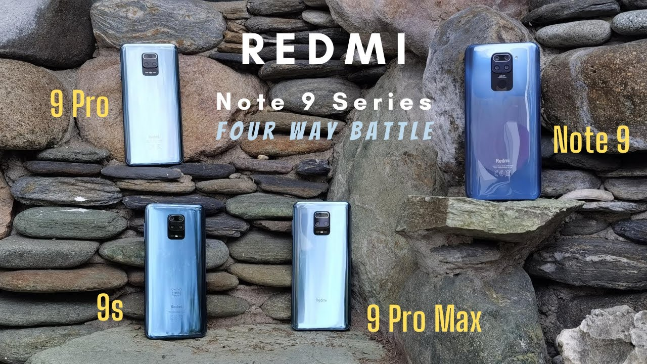 Redmi Note 9 vs Note 9s vs Note 9 Pro vs Note 9 Pro Max 4 Way Battle - Who is d Best Note 9 Series?