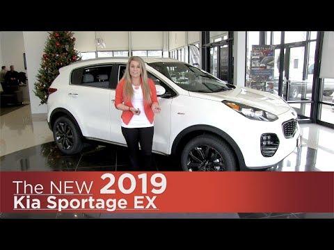 New 2019 Kia Sportage EX - Elk River, Brooklyn Park, Minneapolis, St Paul, St Cloud MN   Review