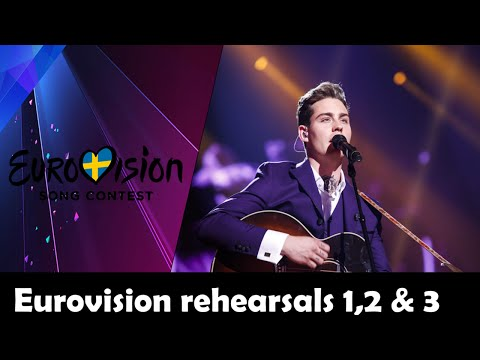 EUROVISION 2016 REHEARSALS DAY 1, 2 AND 3 MY   TOP 29 from YouTube · Duration:  6 minutes 36 seconds