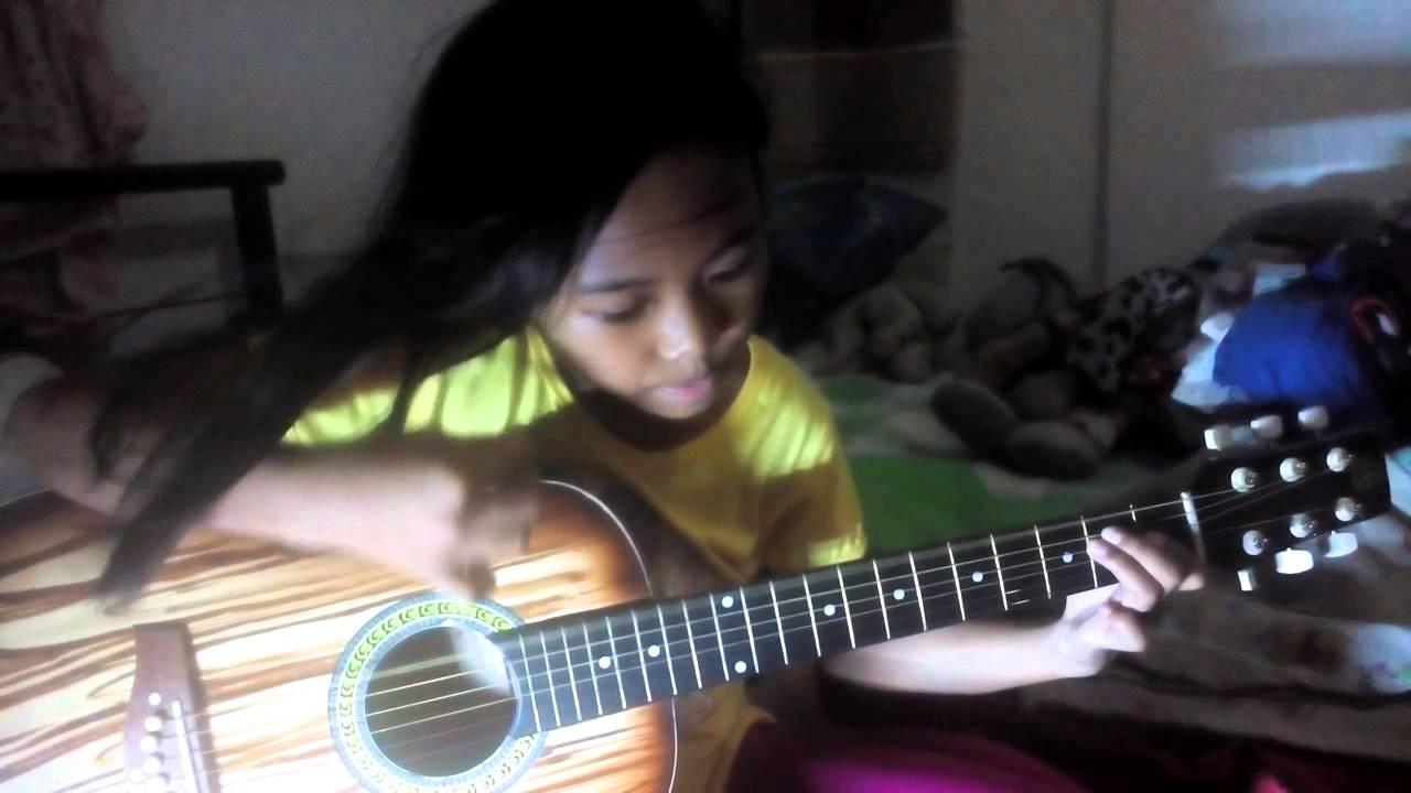 Ayats First Guitar Session Bahay Kubo Youtube