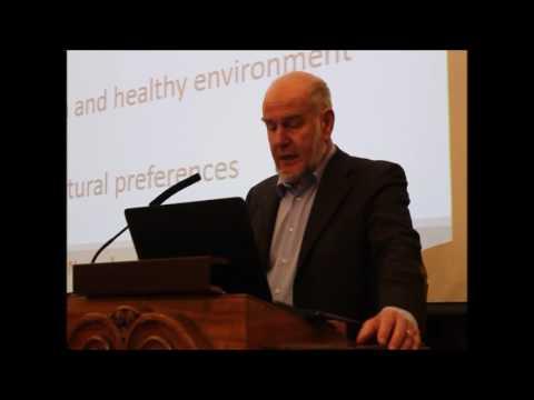 Emile Frison på Oikos seminaret 'Hvorfor økologisk? Hva sier forskningen?'