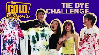 TIE DYE CHALLENGE | The Gold Squad