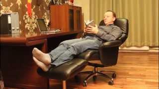 Кресло-реклайнер Relax Boss для кабинета(, 2015-10-15T09:20:12.000Z)