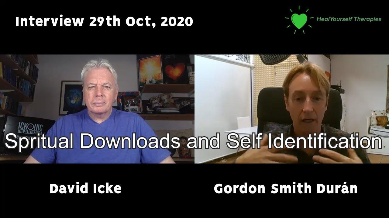 David Icke Spiritual Downloads And Self Identification