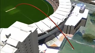 Biggest Six in the history of cricket - 143 meter