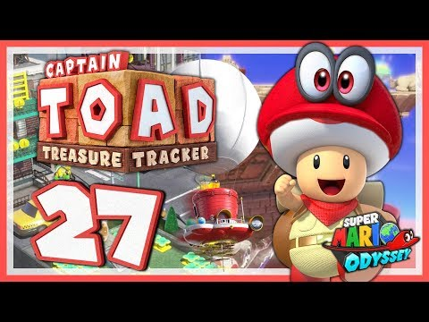 CAPTAIN TOAD: TREASURE TRACKER #27: Die exklusiven Odyssey Level! [1080p] ★ Let's Play
